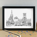 Norwich Skyline Art Print