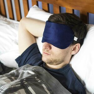 Personalised Mens Silk Eye Mask