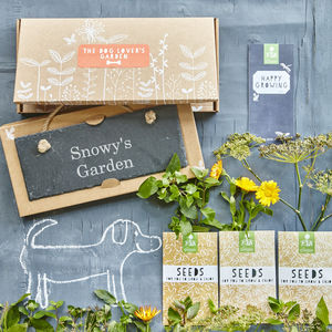 The Dog Lovers' Garden Gift - seeds & bulbs