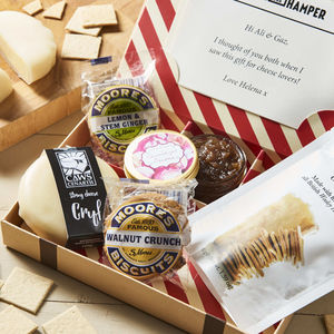 Luxury Cheese And Biscuits Hamper By Post - foodie