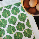 Christmas Brussel Sprout Tea Towel