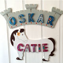 Adventure Door Plaques For Girls And Boys
