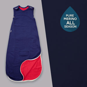 Pure Merino All Season Baby Sleeping Bag