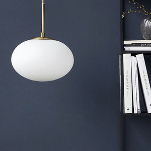 Opal Pendant Light - a retro revival