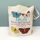 Personalised Butterfly Bag