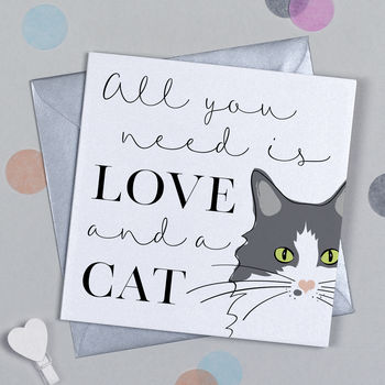 All You Need Is Love And A Cat Card