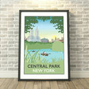 Central Park, New York, USA Print