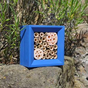 Handcrafted Square Bee Hotel - new in pets