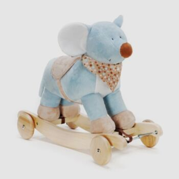 Mouse rocking and ride on toy
