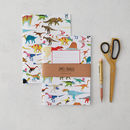 Animals Notebook Set, Dinosaurs And Animals