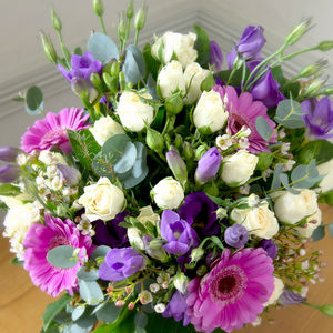Birthday Girl Fresh Flowers Bouquet - winter sale
