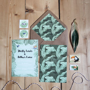 Tropical Wedding Invitation - what's new