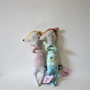 Handmade Doudou Doll By Atelier Angus Deer - soft toys & dolls