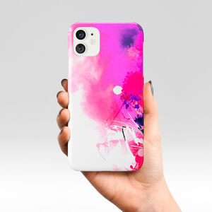 Beauty Of Pink Abstract Fuchsia Design Phone Case