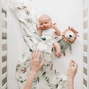 Bamboo Baby Swaddle Blanket Choice Of Two
