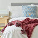 Pom Pom Blanket Knitting Kit