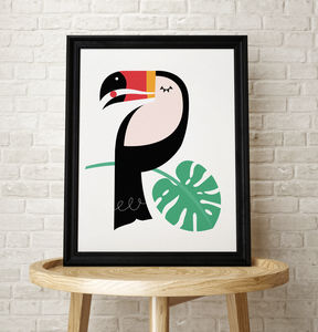 Toucan Bird Tropical Art Print - animals & wildlife
