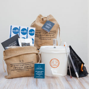 Craft Beer Brewing Starter Kit - make your own kits