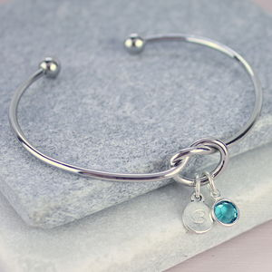 Friendship Knot Bangle - gifts for friends