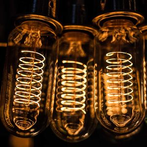Traditional Filament Short Tube Light Bulb - lighting