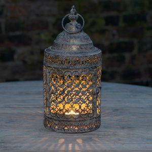 Moroccan Style Lattice Candle Lantern - room decorations