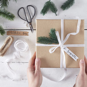 Velvet, Twine, Botanical Wrap Kit Christmas - shop by category