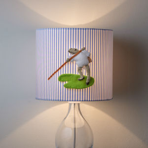 Mr Jeremy Fisher™ 3D Appliqué Frog Lampshade