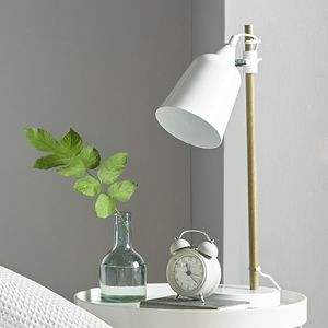 Metal Dome Table Lamp - scandi home decor