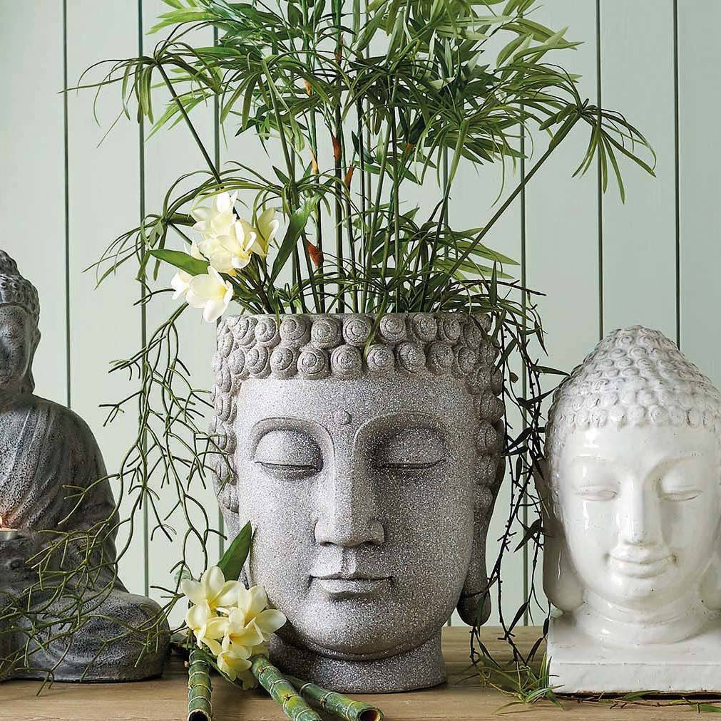 large buddha planter by ella james