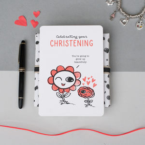 'Celebrating Your Christening' Card
