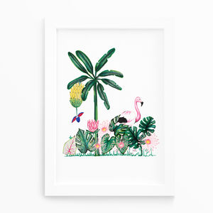 Illustrated Animal Print - posters & prints