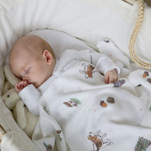 Bamboo Baby Swaddle Outdoors Blanket