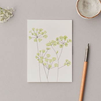 Small A6 Fennel Notebook