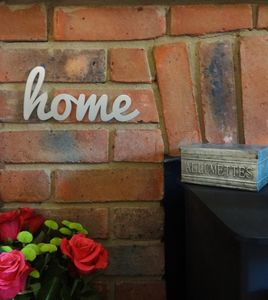 Stainless Steel Home Sign - home accessories
