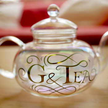 'G And Tea' Teapot And Cups Gift Set