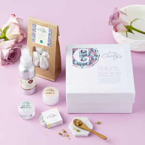 Personalised New Mum Survival Kit