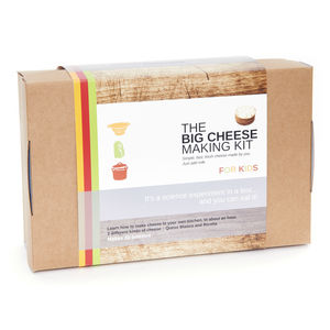 Child's Cheese Making Kit - gifts for babies & children