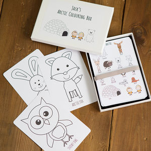 Arctic Colouring Box - gifts for babies & children