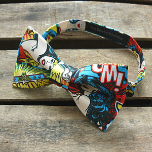Wonder Woman Bow Tie