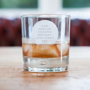 Personalised Whisky Tumbler - drink & barware