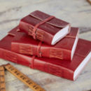 Handmade Embossed Leather Journals