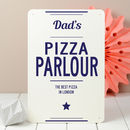 Personalised Kitchen Metal Sign
