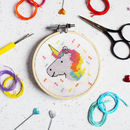 Unicorn Mini Cross Stitch Craft Kit