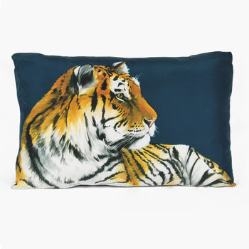 Tiger Cushion Large