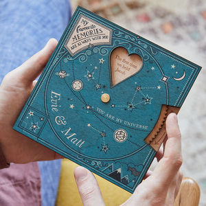 'Written In The Stars' Valentine's Planisphere - gifts for her