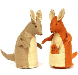 Kangaroo Family Felt Craft Kit