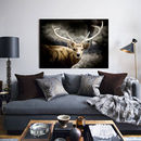King Deer, Canvas Art