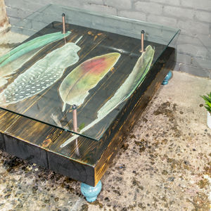 Feather Reclaimed Coffee Table