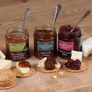 Cheese Chutney Trio