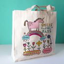 Personalised Love Unicorns Bag